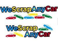 WE SCRAP ANY CAR