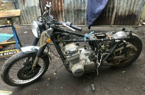 Honda CB750 SOHC restoration project spares or repair USA Title NOVA Duties paid