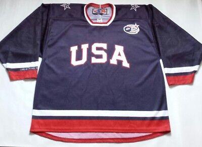 Vintage USA Team SP Hockey Jersey Labatt Blue Size XL for sale  Chicago