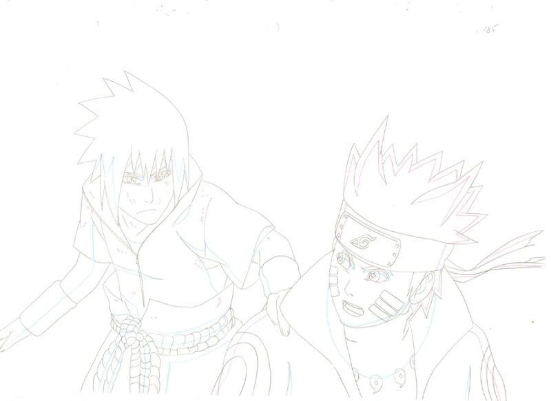 Anime Douga not Cel Naruto #262