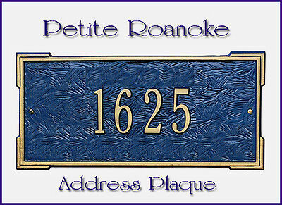 - Whitehall Roanoke Petite-Size Address Marker Personalized Sign 17 Color Choices
