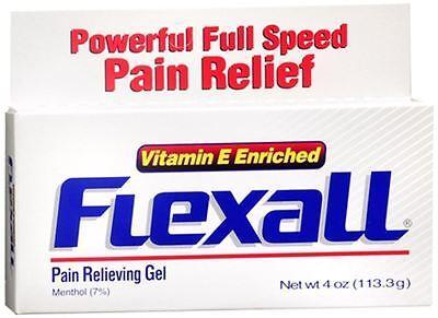 Flexall Gel 4 Oz (pack Of 4)
