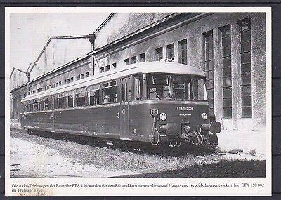 Akku Triebwagen ETA 150 002 aus 1951 schöne Karte ANSEHEN