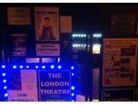 London Theatre to hire from £20