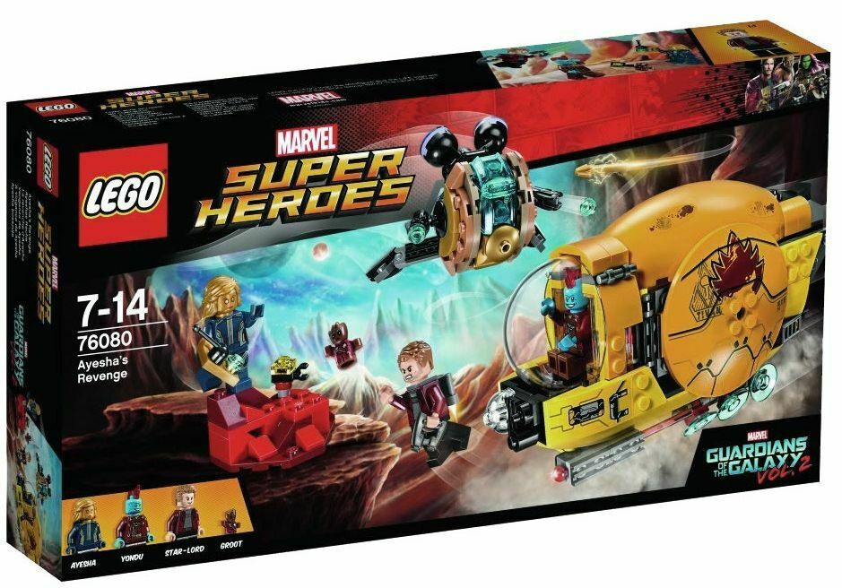 LEGO Super Heroes Guardians of The Galaxy Ayesha's Revenge
