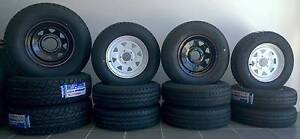 """14"""" Black Sunraysia Wheel & Light truck tyre!! Clontarf Redcliffe Area Preview"""