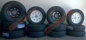 """Brand New 13"""" Sunraysia Wheel & light truck tyre. Clontarf Redcliffe Area Preview"""