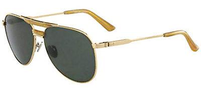 9786b33631 Calvin Klein Sammlung Ck8050s-714 Glänzend Hellgold Herren Sonnenbrille