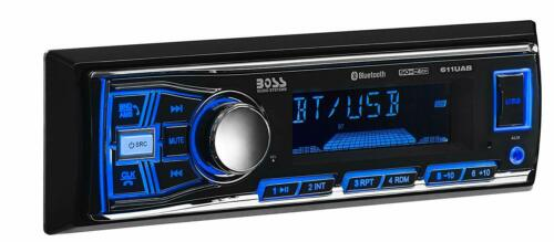 BOSS Audio 611UAB Car Stereo, Bluetooth, No CD/DVD Player, USB, AUX, AM/FM Radio