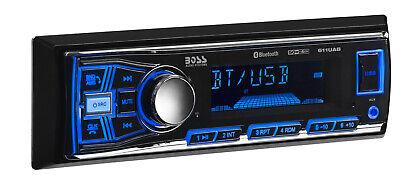 BOSS 611UAB SINGLE DIN BLUETOOTH IN-DASH DIGITAL MEDIA AM/FM CAR AUDIO -