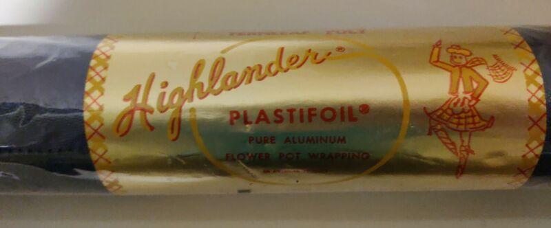 Highland Supply Plastifoil Vintage Highlander Embossed Foil Wrap Blue & Green