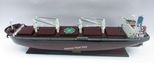 "Bulk Americas Ship Model 39"" - Handcrafted Wooden Model NEW"