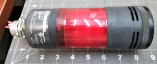 Cutler Hammer E26BL Stack Light Base & E26 SER A Red Bulb [A7B3]