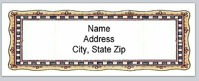 Personalized Address Labels Primitive Country Buy 3 Get 1 Free Bx 567