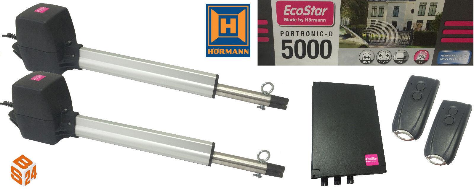 hörmann ecostar portronic d5000 drehtorantrieb 2-flügelig. -  flügeltorantrieb