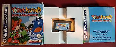 GBA - Gameboy Advance - Super Mario Advance 3 : Yoshi's Island + BOX/OVP/BOÏTE