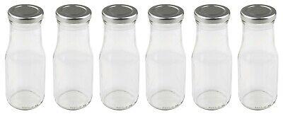 Dr. Oetker Milchflaschen Set, Smoothie-Flasche zum Selbstbefüllen, Menge: 6x