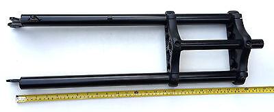 "26 x 4.0 Triple Tree Fat Sand Snow Beach BICYCLE Bike Fork 1"" threadless Black"
