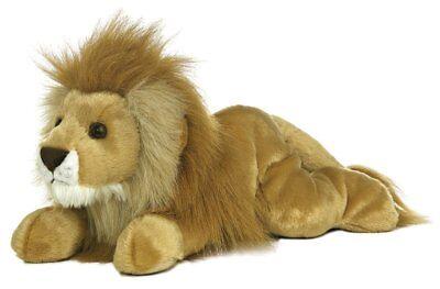 Lion Stuffed Animal Brown Toy Kids Adults Collectible Cute Fun Plush Realistic
