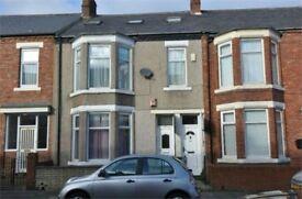 Fantastic 4 bed Upper Maisonette situated on St Vincents Street, Westoe, South Shields.