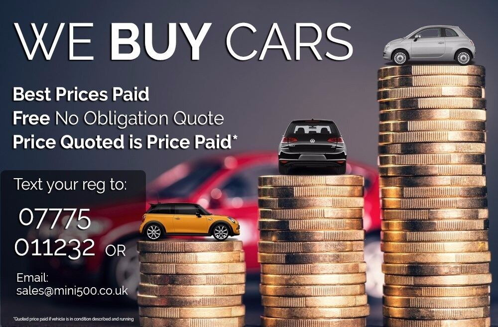 We buy your car! Best Prices Paid! Kent Based - Quick Service   in ...