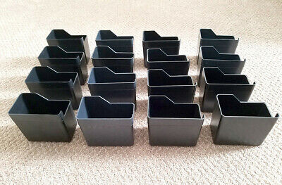 16 - Uturn Terminator Candy Vending Machine Coin Box - Coin Cups - Lot Of 16