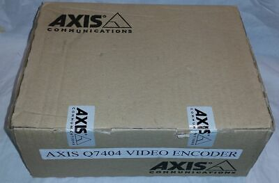 Axis Q7404 0291-001-01 4-channel Video Encoder New Open Box