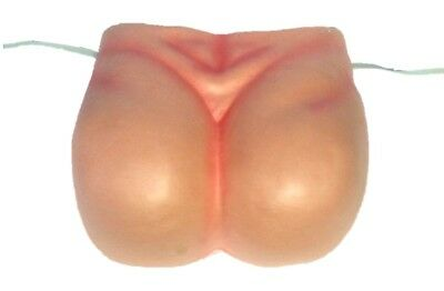 Big Bare Bum Butt Buttock EVA Foam Funny Costume Accessory Adult Joke Gag Humour ()