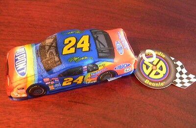 Speedie Bean Bag toy 1998 Nascar Jeff Gordon #24 Dupont NEW w/ Tag 24 Nascar Bean Bag