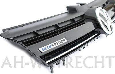 Blue Grill (Original VW Golf 7 VII 5G Kühlergrill BLUEMOTION Grill GTI R Gitter Variant Limo)