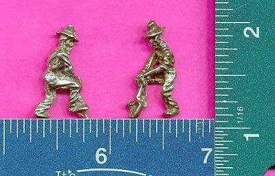 100 wholesale lead free pewter miner figurines m11021