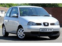 2005 SEAT AROSA S 1.0, 62020 MILES, 12 MONTHS MOT WITH NO ADVISORIES. 2 LADY OWNERS. GOOD CONDITION.