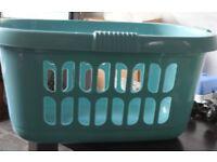 Laundry Basket Modern High Grade Plastic Linen Washing Carrier