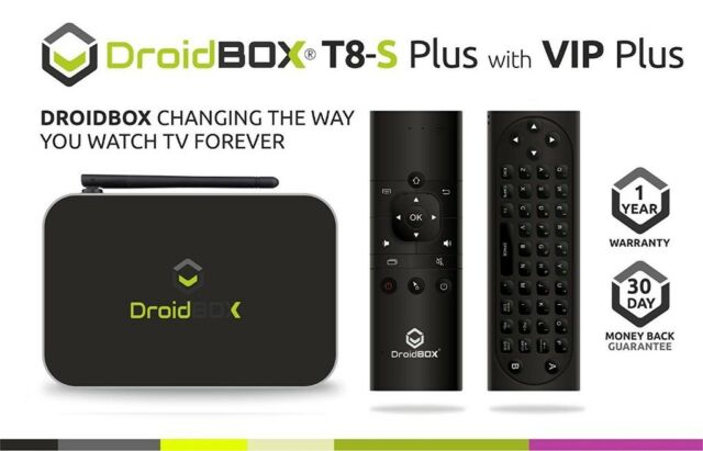 Droidbox T8-SE 32GB Android box with Air remote | in Middlesbrough, North  Yorkshire | Gumtree