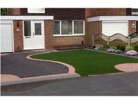 Artificial Turf, Gardens and Driveways installed. Patio and Driveway cleaning, low cost quotation