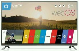 "LG 42"" LED tv smart wifi HD Freeview USB player ."