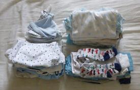 33 items, big bundle, 0-3 months baby boy