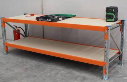 Heavy Duty Galvanised Workbench 1829 x 838 x 914