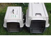 Transport Box for Cat, medium to large sized dogs. Ideal for (air) travel