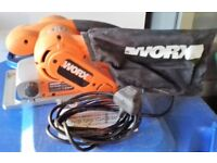 Worx Belt Sander Model WX820BS With Case Great condition.
