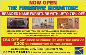 Branded Furniture Leather Fabric Sofas DFS ,JOHN LEWIS , FURNITURE VILLAGE , SCS, OAK BEDS SOFOLOGY