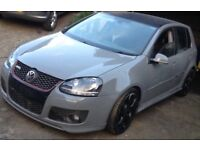 Vw golf 6speed 2.0 gt tdi nardo grey full leather Gti golf r r32 alloys exhaust spoililer sideskirts