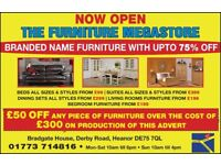 BRANDED LEATHER SOFAS FURNITURE RECLINERS DISCOUNTED PRICES