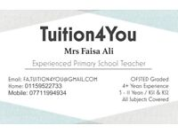 Tuition4You - FRIENDLY AT HOME TUTORING