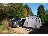 Khyam motordome 380 nearly new for vw t5, vito etc campervan