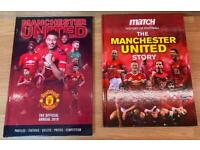Pair of Manchester United Books