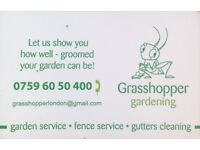 Gardening... Patio & Drive way power wash... Gutters cleaning