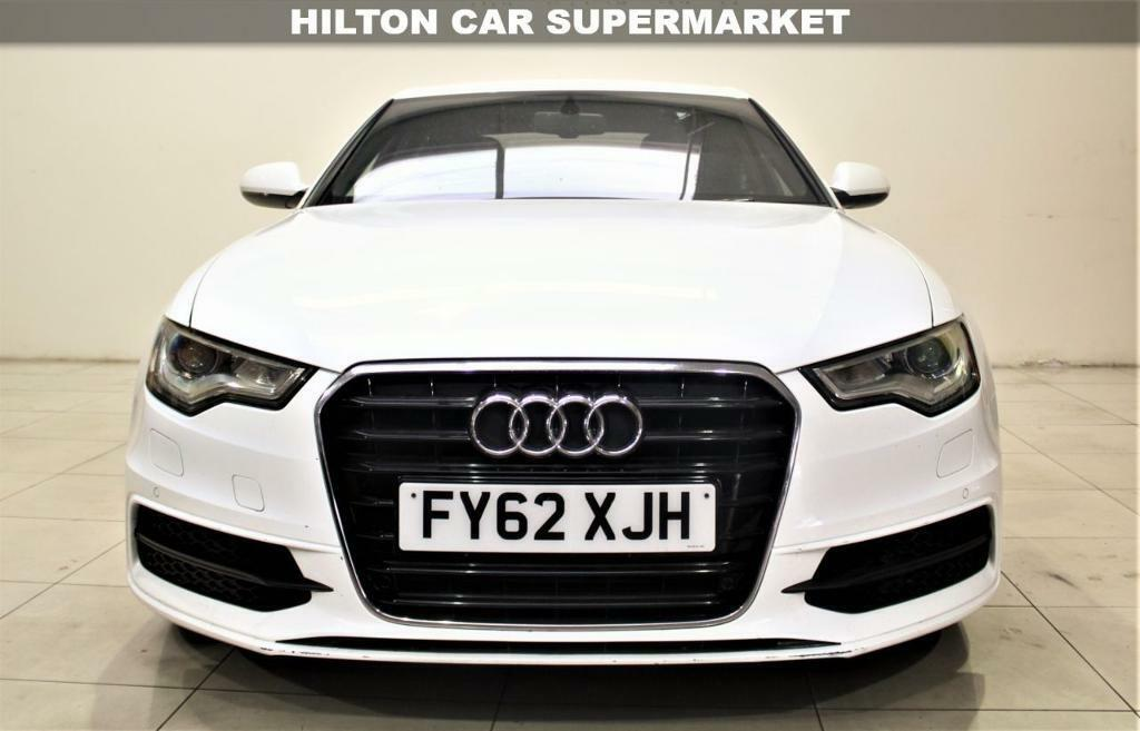 AUDI A SALOON TDI S LINE Saloon TOP SPEC WITH ALL THE - All white audi