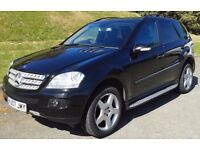2007 Mercedes-Benz M Class 3.0 ML320 CDI Sport. 7G-Tronic 5dr, Automatic, SUV, Diesel. 163804 miles