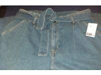 Mum/paper bag jeans